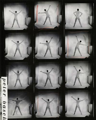 Peter Basch, 'untitled contact sheet (183 B)', ca. 1960