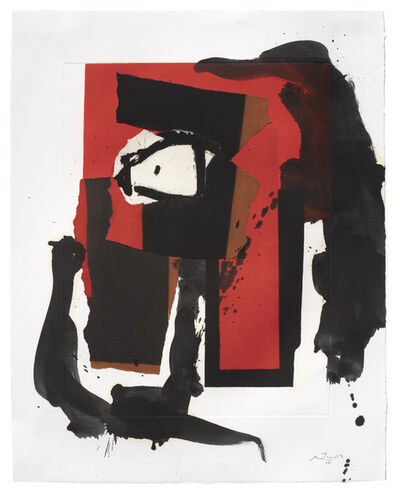 Robert Motherwell, 'The Red and Black No. 35', 1987/1988