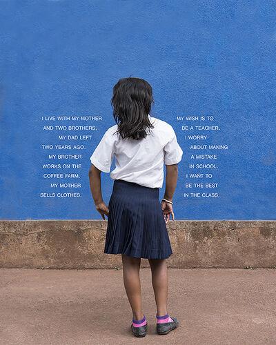 Judy Gelles, 'Fourth Grade - The Class (Nicaragua: Public School)', 2016