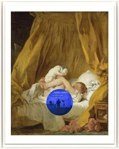 Jeff Koons, 'Gazing Ball (Fragonard Girl with Dog)', 2017