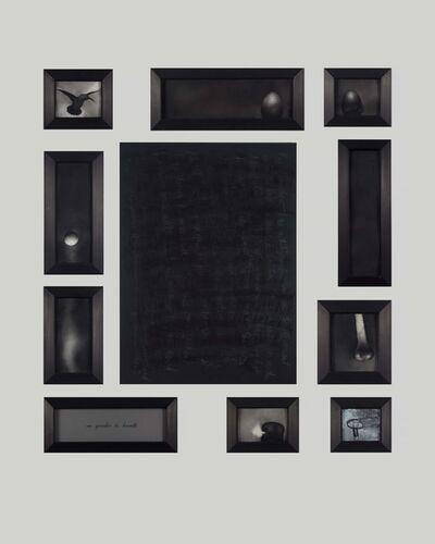 Julia Couzens, 'Hummingbird Palimpsest', 1991
