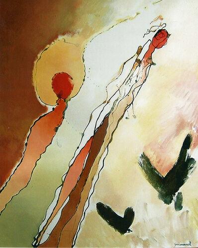 Josep Guinovart, 'Ocells', 1995
