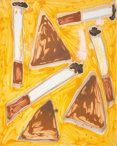 Katherine Bernhardt, 'Doritos and Cigarettes', 2014