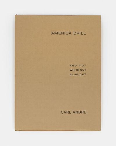 Carl Andre, 'America Drill ', 2003
