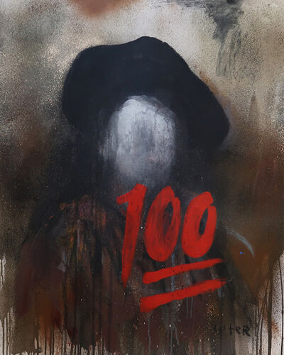 Anthony Lister, 'SELF PORTRAIT 1660 / Homage to Harmens van Rijn Rembrandt', 2019