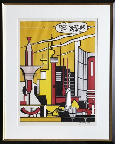 Roy Lichtenstein, 'This Must Be the Place (C. III.20)', 1965
