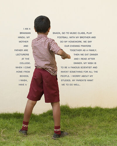 Judy Gelles, 'Fourth Grade - Do Well (India: Private School)', 2010