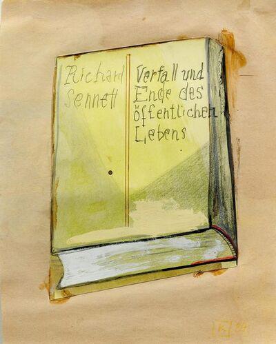 Martin Kippenberger, 'Richard Sennett (Verfall und Ende des öffentlichen Lebens)', 1984