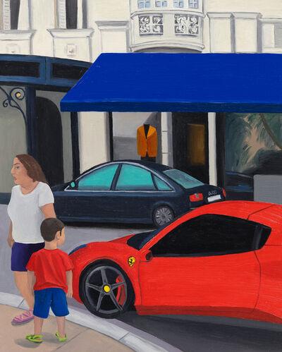 Evie O'Connor, 'Boy and Ferrari, Monaco', 2020