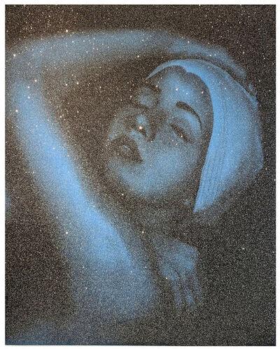 Carole A. Feuerman, 'Shower Portrait (blue)', 2012