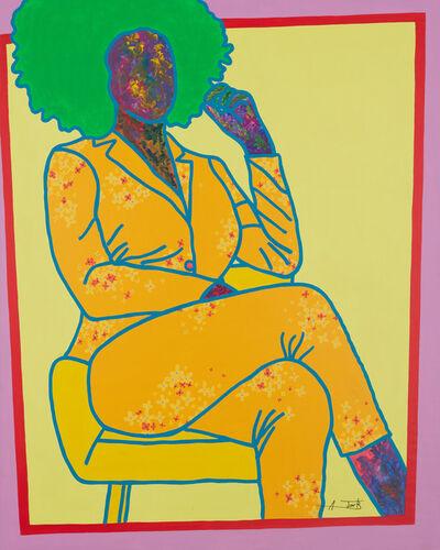 Ajarb Bernard Ategwa, 'The Afros sister ', 2020
