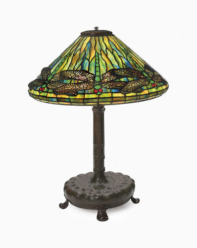 Tiffany Studios, 'A 'Dragonfly' Table Lamp', circa 1903