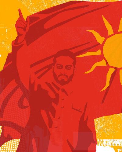 Mahmoud Obaidi, 'Untitled 2 (The Replacement Propaganda)', 2013-2014