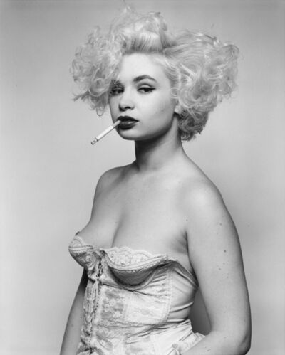 Bettina Rheims, 'Martha en guêpière, février 1987, Paris', 1987