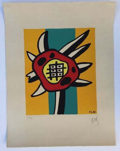Fernand Léger, 'Le Tournesol (The Sunflower)', 1953