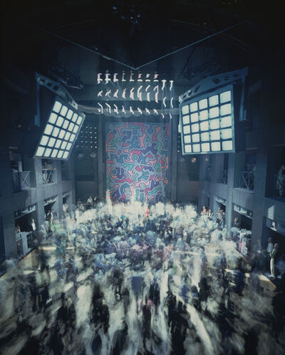 Timothy Hursley, 'Untitled Keith Haring Backdrop at Palladium 2', 1985