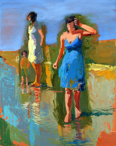 Linda Christensen, 'Fall Beach'