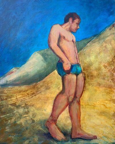 Marc Kundmann, 'Poet in the Beach', 2019