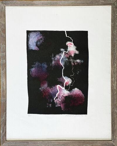 David Hockney, 'Smaller Study of Lightning ', 1973