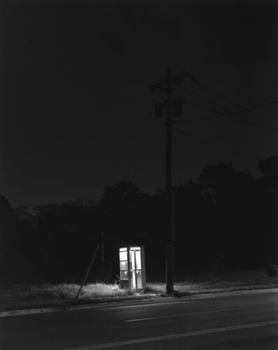 George Tice, 'Telephone Booth, 3 a.m., Rahway, NJ', 1974