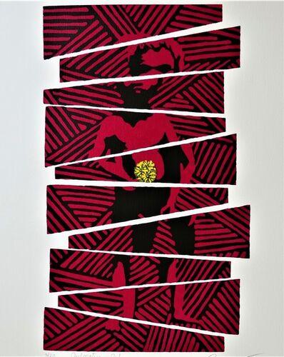 Lin Onus, 'Dislocation—Red', 1996