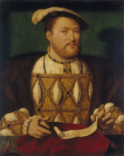 Joos van Cleve, 'Henri VIII of England', 1530-1535