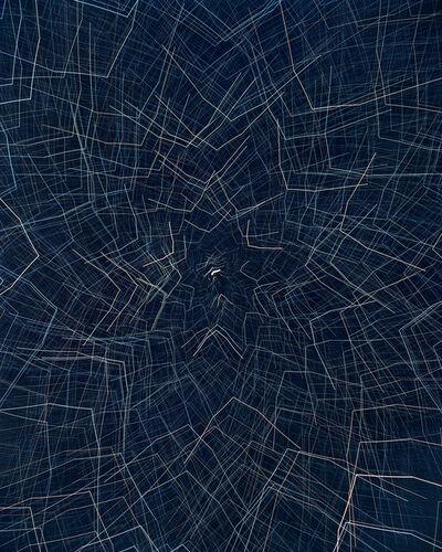 James Nizam, 'Drawing with Starlight (Drapery)', 2019