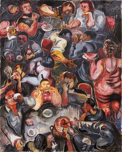 Zhang Enli 张恩利, 'Eating #4', 2000