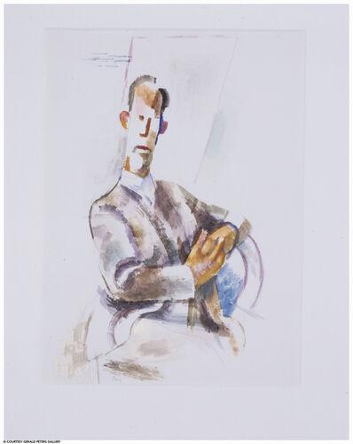 Willard Nash, 'Caricature of a Seated Man'