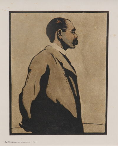 William Nicholson, 'RUDYARD KIPLING', 1899