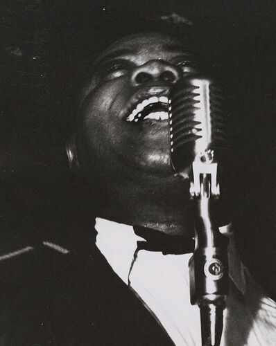 Weegee, 'Louis Armstrong', 1940s