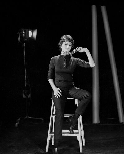 """Bud Fraker, 'Sophia Loren Posed Behind the Scenes of """"Houseboat"""", an Archival Print', 1958"""