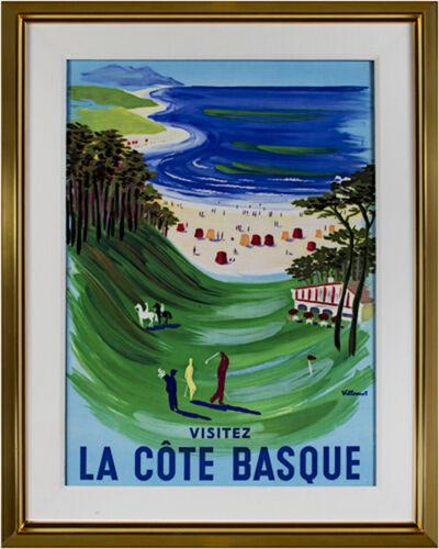 Bernard Villemot, 'La Cote Basque', 1969