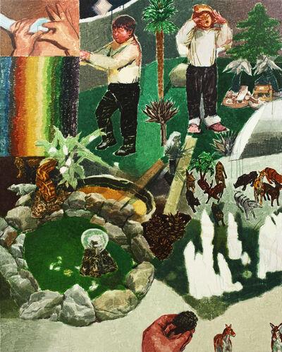 Hyunsun Jeon, '하나의 초원과 두 개의 정원', 2015