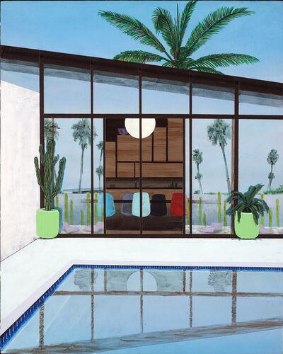 Erik Parra, 'Reflections, Pool', 2020