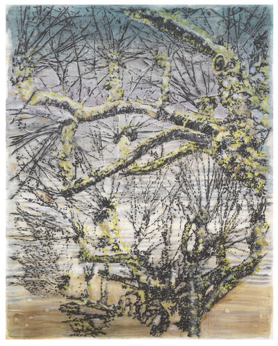 Ena Swansea, 'pollarded trees', 2021
