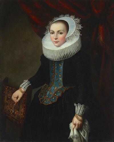 Dutch School, 'Portrait of a Lady', ca. 1820