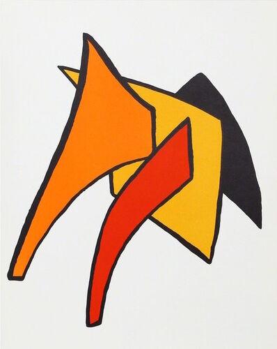Alexander Calder, 'Study for Stabiles VI from Derrière le Miroir ', 1963