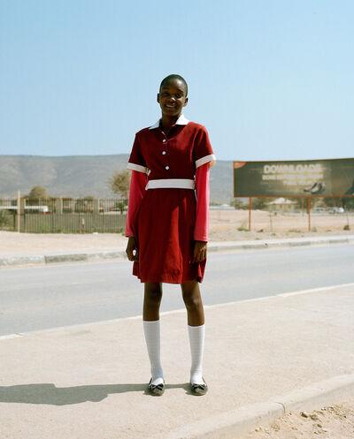 Francois Visser, 'Girl in Street, Namibia', 2015
