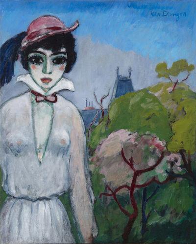Kees van Dongen, 'Avenue du Bois de Boulogne', 1955