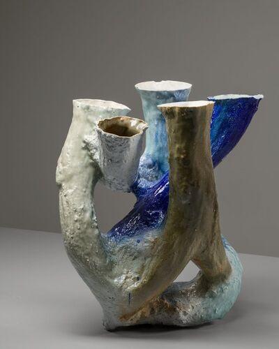 Johannes Nagel, 'Growing Vessel (Porcelain 7)', 2015