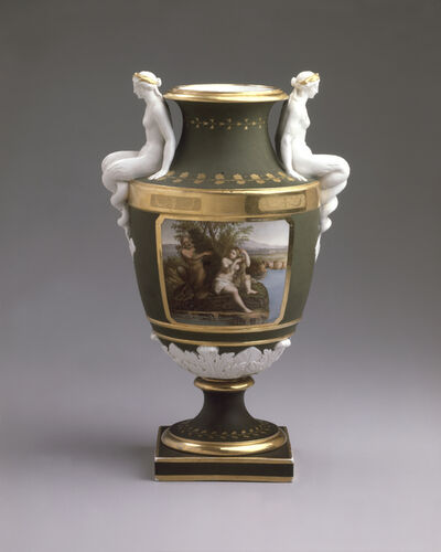 Imperial Porcelain Factory, 'Vase with Scenes from Ovid's Metamorphoses', 1810-1820