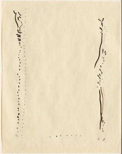 Lucio Fontana, 'Concetto spaziale', 1967-1968