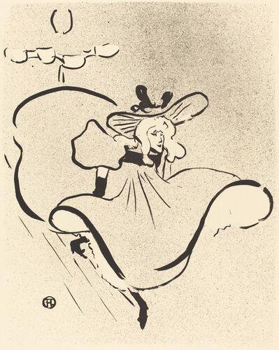 Henri de Toulouse-Lautrec, 'Jane Avril', 1893