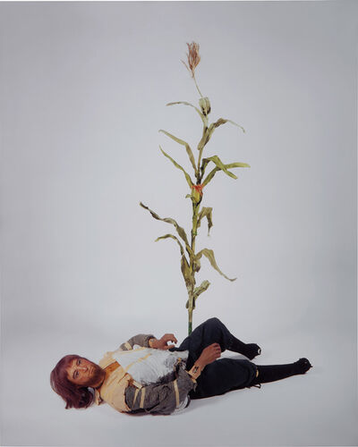 Sam Durant, 'Male Colonist (with cornstalk)', 2006