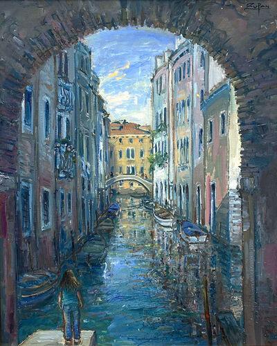 Bruno Zupan, 'Sotoportego by San Giacomo, Venice', 2021