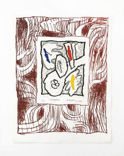 Pierre Alechinsky, 'Trilogisme', 2003