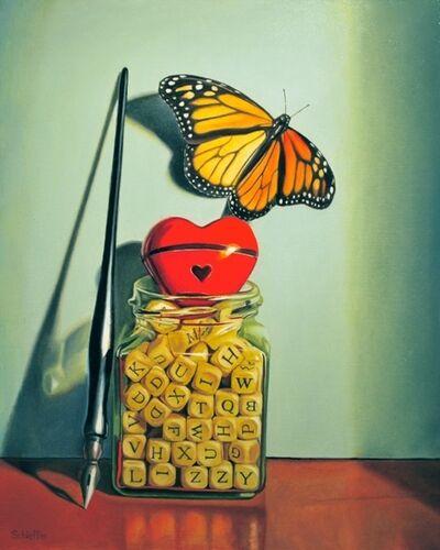 """John Schieffer, '""""Exotic Love Letters""""', 2015"""