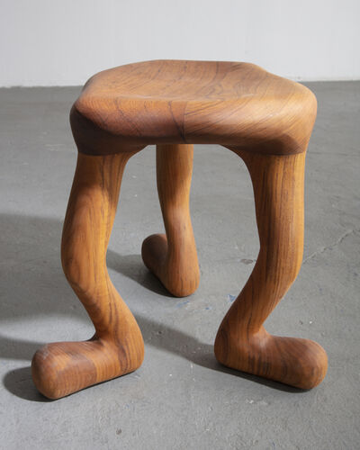 """The Haas Brothers, '""""Anne Teak's Road Show"""" Stool', 2017"""