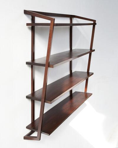 Joaquim Tenreiro, 'Wall-mounted shelving unit', ca. 1955